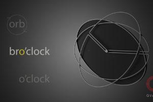 Разработка дизайна настенных часов Bro`clock от студии промдизайна и конструкторского бюро Qvarta.