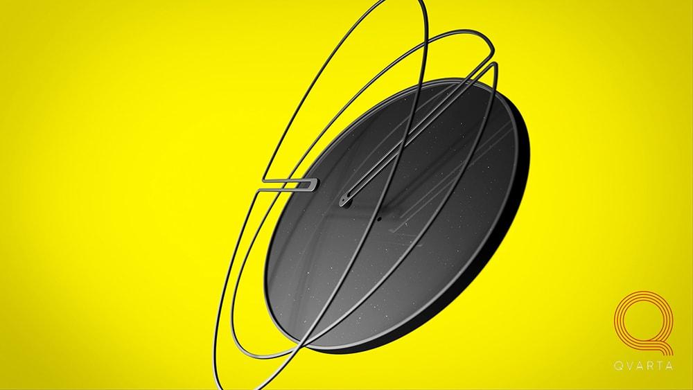 Часы Bro`clock от конструкторского бюро Qvarta.