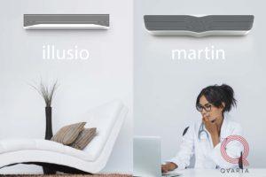 Дизайн УФ лампы. Сравнение дизайна Illusio и martin.