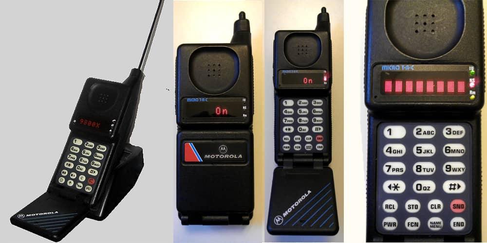 Старый телефон Motorola.