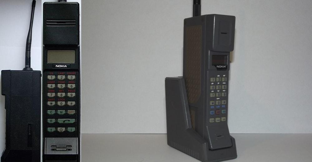 Старый телефон Nokia.