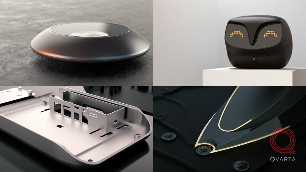 Пример работ: радио няня, утюг, камера, и дизайн корпуса.