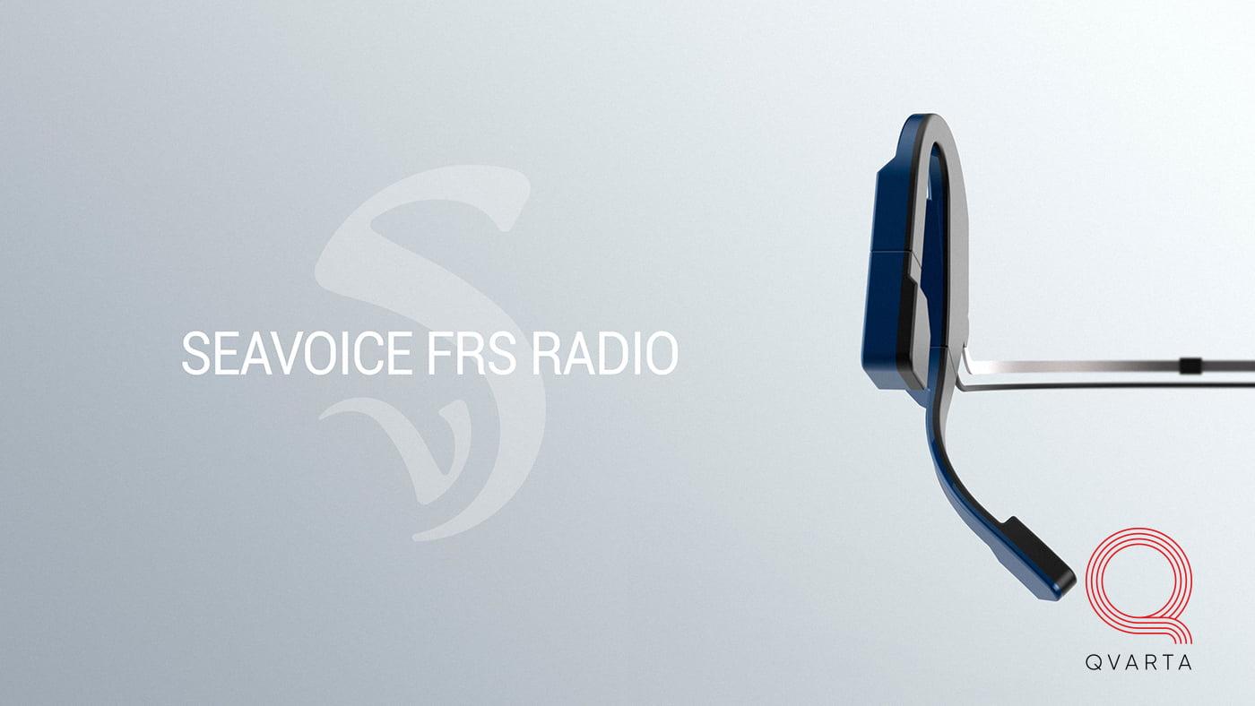 Компактная рация для общения в водной среде от Sea Voice inc.