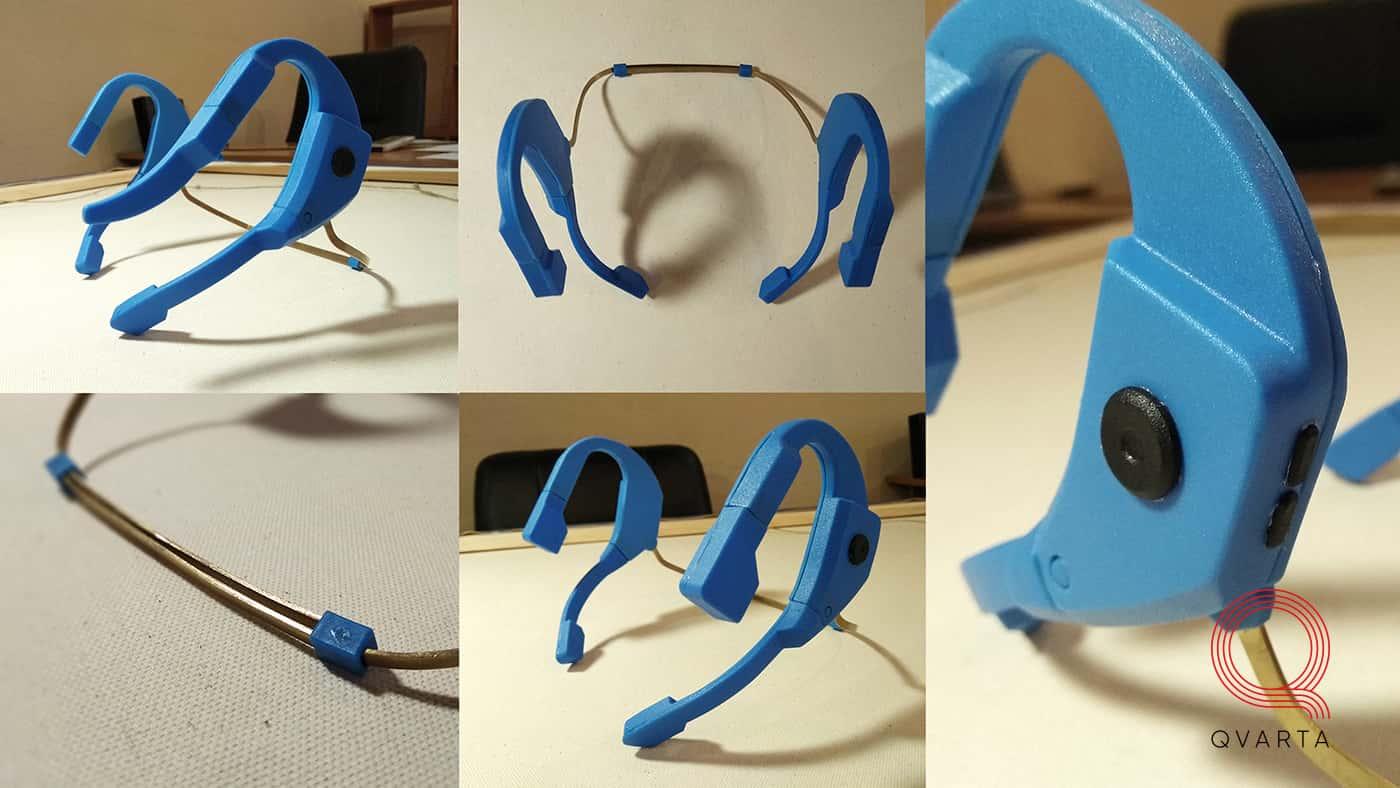Компактная рация для общения под водой. Первый прототип.