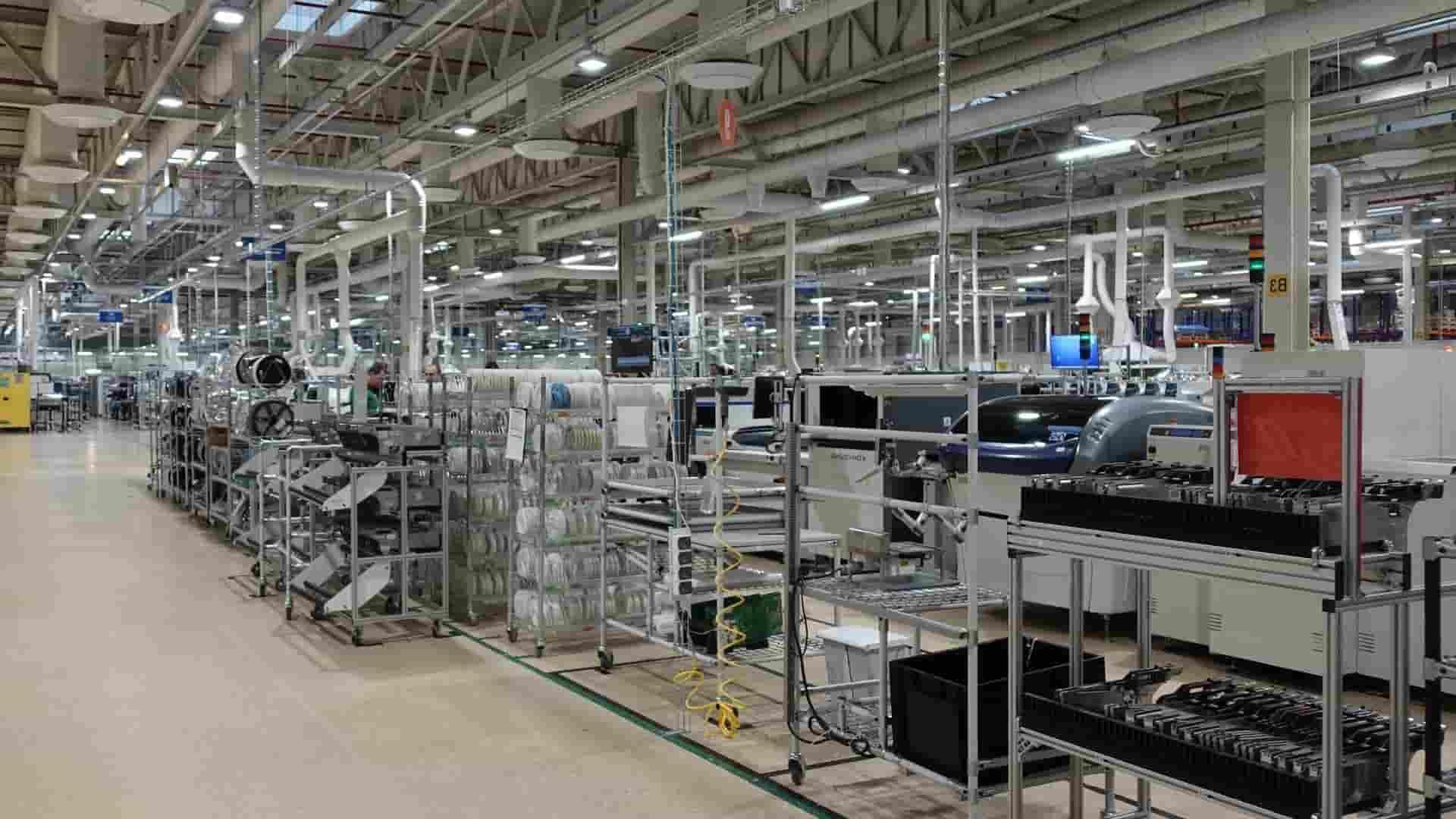 Фото процесса серийного производства в Китае - 2.