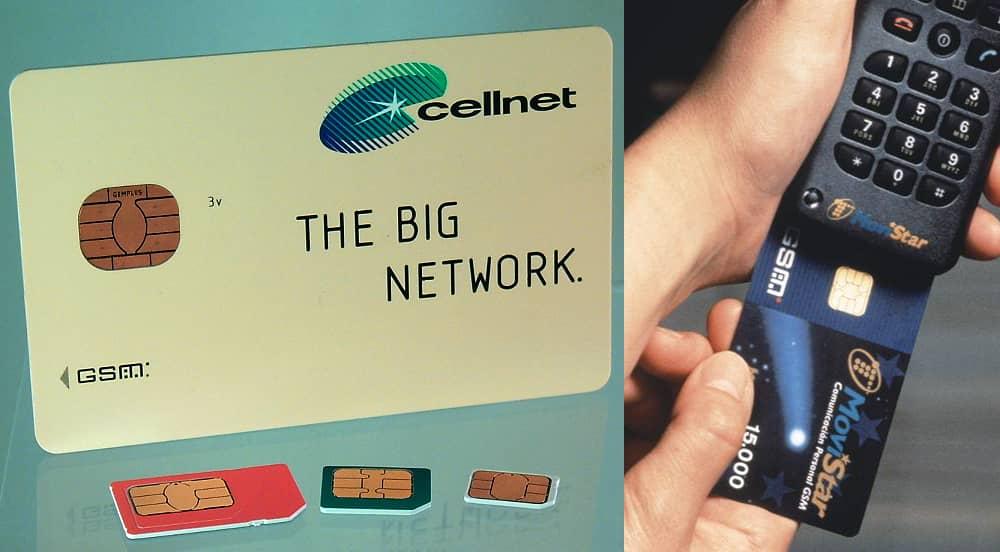 Эволюция SIM карт.