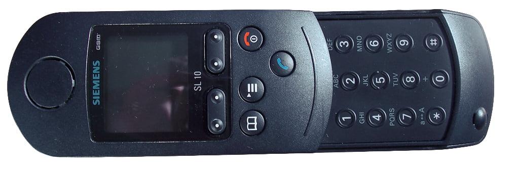 Siemens SL10. Передняя панель телефона.