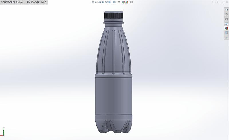 Модель бутылки.