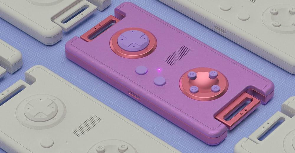 3d модель геймпада.