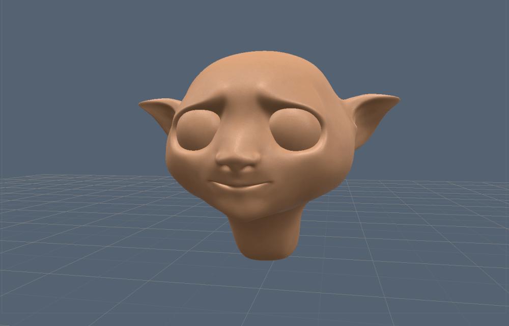 3d модель головы.