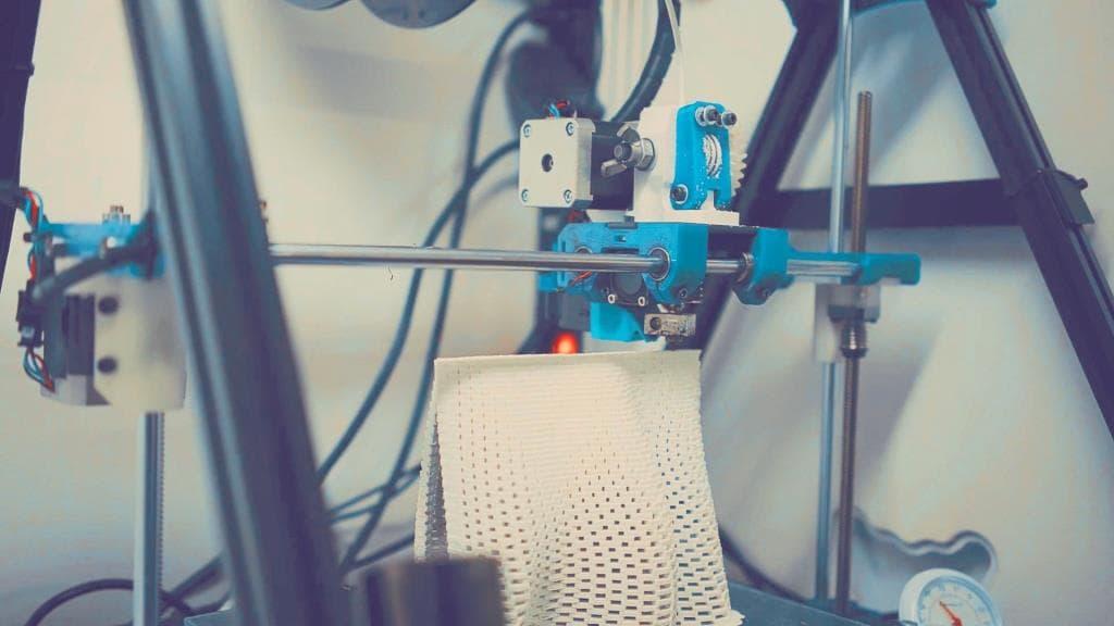 3D-печать сетки.