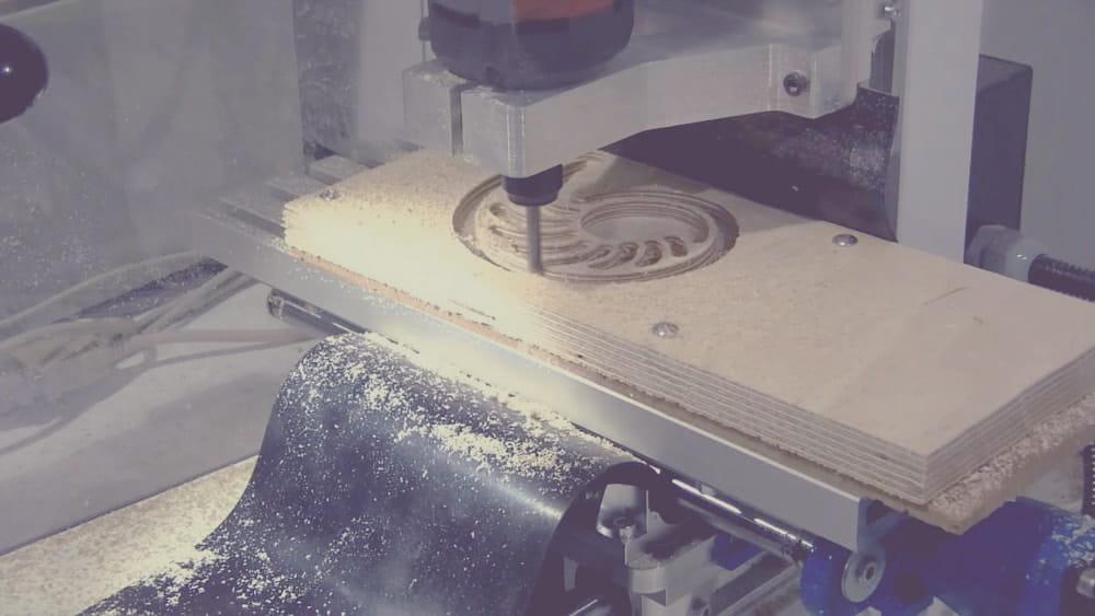3D-фрезерование в производстве.