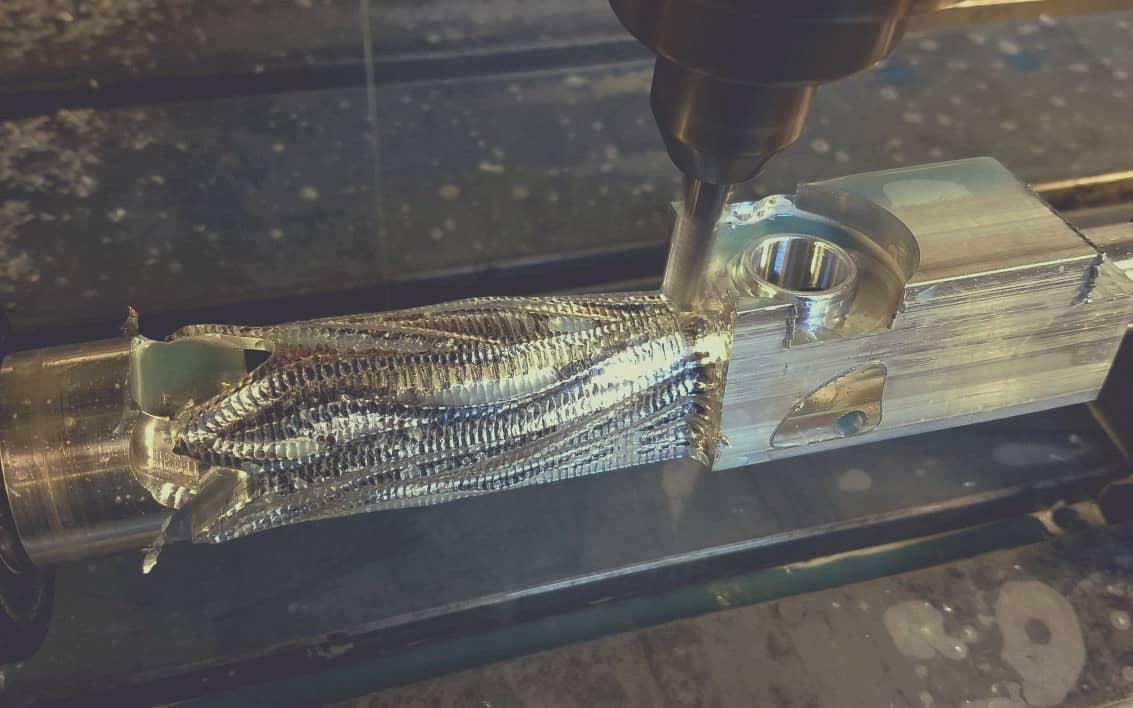 3D-фрезерование железа.