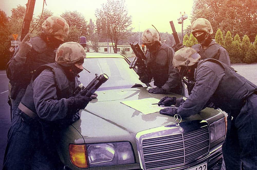 Фото спецназа.