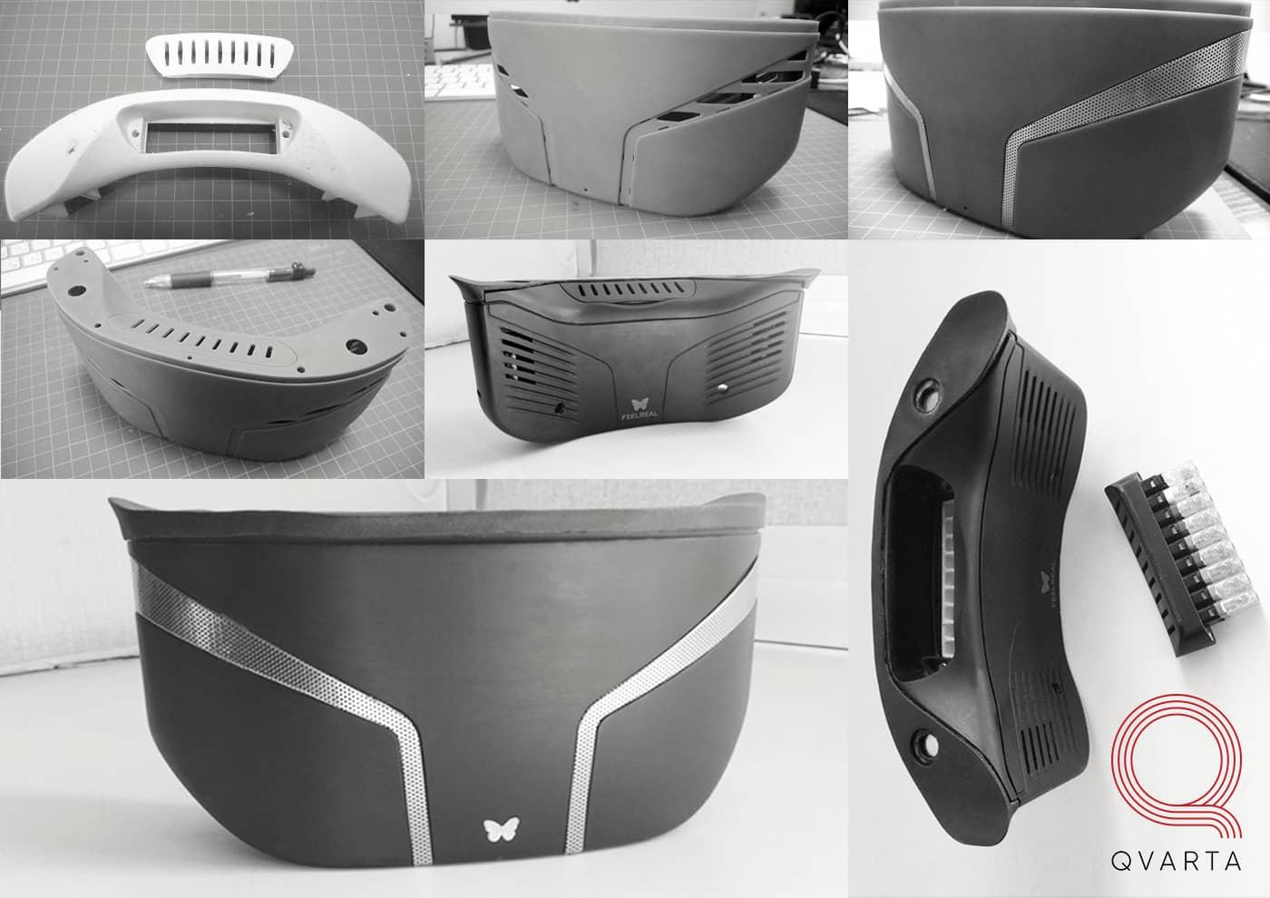 Дизайн маски виртуальной реальности от Qvarta.