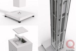 Проектирование корпуса для системы радиационного контроля. С разных сторон.
