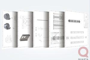 Проектирование корпуса для системы радиационного контроля. Чертежи.