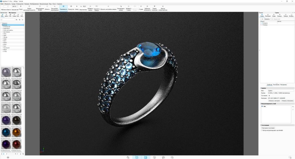 Модель кольца.