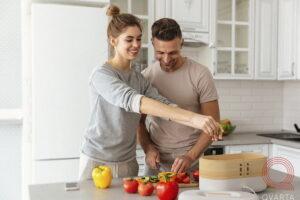 люди и здоровая еда